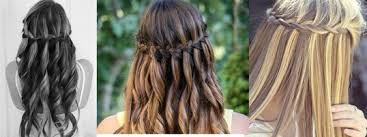 Frisuren Lange Haare Wasserfall by Wie Macht Eine Wasserfall Frisur Zur Konfirmation Haare