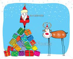 new year post card stock photo santa new year postcard image tk112301032 santa