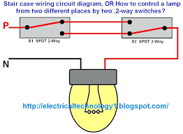 2 gang light switch circuit way australia two lighting diagram