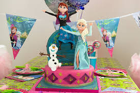 frozen birthday cakes worth melting party delights blog