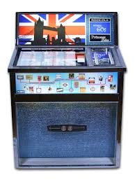 vinyl jukebox rock ola 435 princess from 1968 deluxe that has