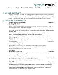 Interior Design Sample Resume Creative Resume Samples Graphic Design