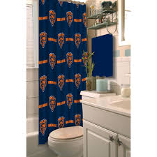 nfl chicago bears decorative bath collection shower curtain nfl chicago bears decorative bath collection shower curtain walmart com