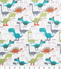 World Map Fabric by Novelty Cotton Fabric 43 U0027 U0027 Dinosaurs Roar Joann