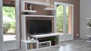 meubles modernes design fabriquer un meuble tv contemporain youtube