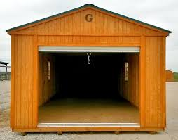 10x20 Garage Garage Graceland Portable Buildings