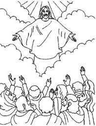 sunday kids palm branch coloring page bible story