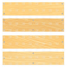 wooden board four wooden boards hanging on ropes royalty free vector clip