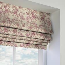 Shabby Chic Kitchen Blinds Pink Roman Blinds Made To Measure From Direct Blinds