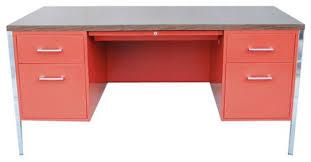 Metal Desk Vintage Sold Out Vintage 1970 U0027s Metal Desk By Interroyal 1 150 Est