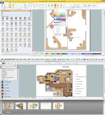 House Layout Program Blueprint Software Try Smartdraw Free An Example Created With