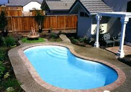 Backyard With Pool Landscaping Ideas Small Backyard Pools Las Vegas Swimming Pool Designs Small Yards