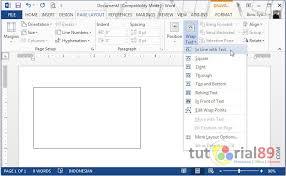 cara mudah membuat kartu nama di microsoft word tutorial89