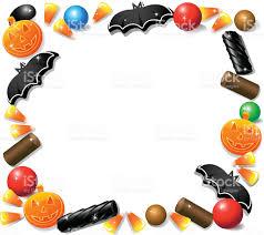 halloween food clip art halloween candy frame stock vector art 165751109 istock