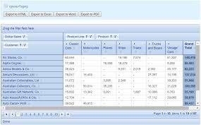 pivot table exle download powerful pivot table for php koolphp