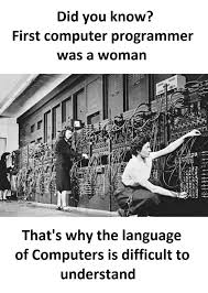 Computer Programmer Meme - first computer programmer funny pictures quotes memes funny