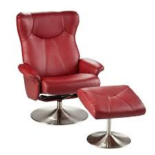 Supreme Furniture Chair Furniture Luxury Red Leather Recliner Sofa With Supreme Settee