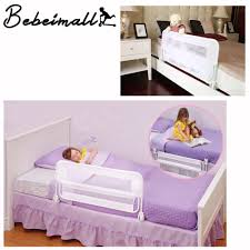 folding adjustable bed rail guard safety bumper kids baby toddlers