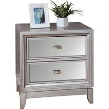 Nightstand With Drawer Modern Nightstands And Bedside Tables Allmodern