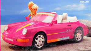 Porsche 911 Convertible - amazon com barbie porsche 911 cabriolet vehicle car w working