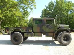 jeep truck conversion custom 1971 m35a2 crew cab with 2012 rebuild c u0026c equipment