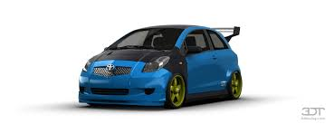 toyota yaris paint 3dtuning of toyota yaris s liftback 2009 3dtuning com unique on