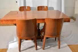french art deco ambonya veneer table 1920s for sale at pamono