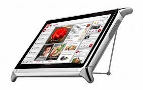 tablette recette de cuisine idée cadeaux la tablette tactile qooq au service de votre cuisine