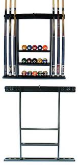 pool table wall rack ball and cue racks 75185 sterling gaming deluxe wall mount cue rack