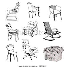 chair sketches download free vector art stock graphics u0026 images
