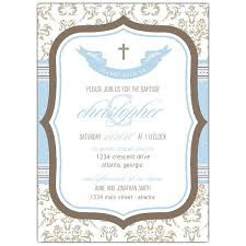 baptism invitations boutique boy baptism invitations paperstyle