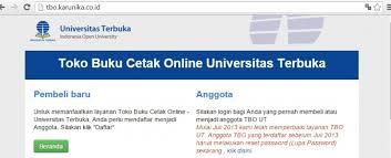 pendaftaran tutorial online ut toko buku online ut tutup sementara universitas terbuka