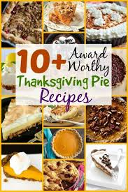 10 award worthy thanksgiving pie recipes the budget diet
