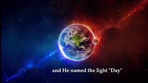 what day did god create light day 1 the first day of creation how god created the earth let
