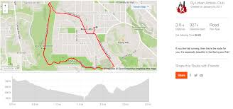 Map Running Routes by Glover Park Running Routes U2014 Urban Athletic Club