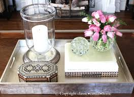 Glam Coffee Table by Project Design How To Style Your Coffee Table Classic Casual Home