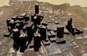 Dart Dallas Map by Map Sculpture Brad J Goldberg Inc