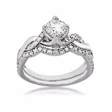 black diamond wedding set noventa diamond wedding set in 14 kt white gold re9823a45 nov