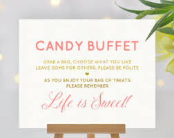 gold candy buffet etsy