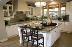 Green And White Kitchen Cabinets Kitchen Of The Day Traditional White Cabinets Pair Nicely With