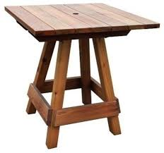 Outdoor Bistro Table Bar Height Popular Of Outdoor Bistro Table Bar Height With Gronomics Picnic