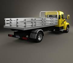 kenworth 2016 models kenworth t170 flatbed truck 2009 3d model hum3d