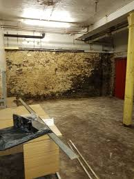 basement waterproofing for a commercial property in manchester