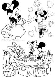 des sports coloriage minnie coloriage minnie et mickey coloriage