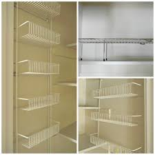 kitchen kitchen pantry shelving systems with acrylic shelves and
