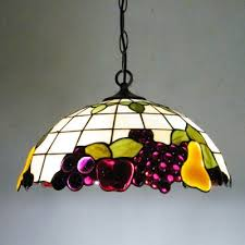 country style pendant lights 16 inch wide nature country style fruit motif one light tiffany