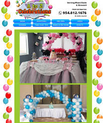 party rentals miami party rental miami miami party rentals a to z celebrations