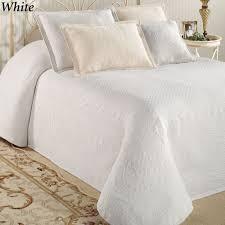 Quilted Bedspread King King Charles Matelasse Bedspread Bedding