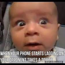 Triumphant Baby Meme - the spiciest of memes clash royale amino
