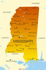 County Map Of Mississippi Mississippi Map Blank Political Mississippi Map With Cities
